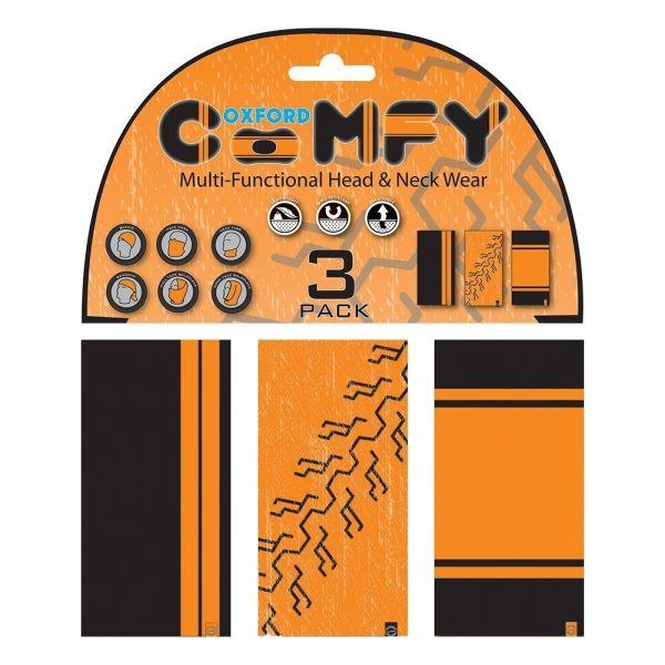 Oxford Multi Functional Head & Neck Wear model Orange