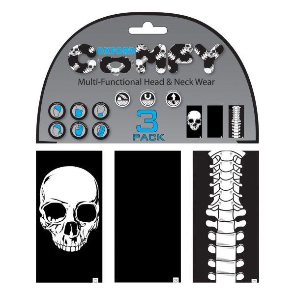 Oxford Multi Functional Head & Neck Wear model Skeleton