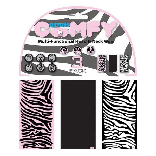 Oxford Multi Functional Head & Neck Wear model Zebra