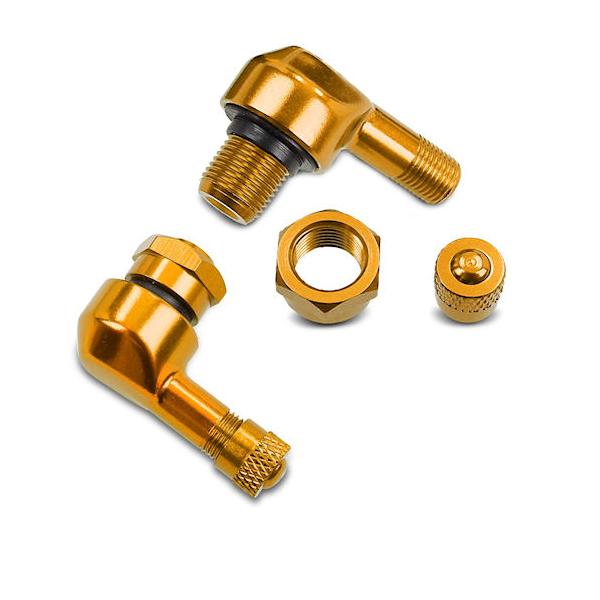 Puig haakse ventielen goud