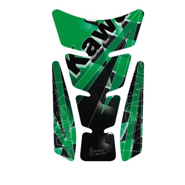 Kawasaki Green tankpad