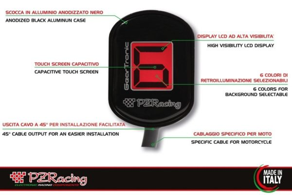 PZRacing Gear indicator Honda (H1)