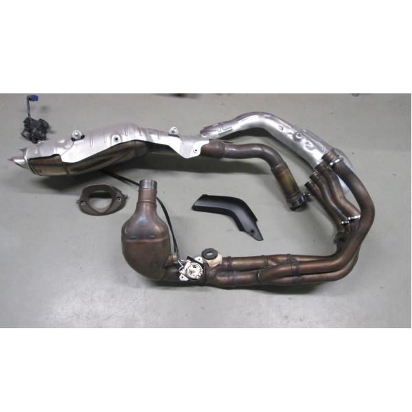 Uitlaat systeem gebruikt Honda CBR 600 RR